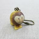 Lisa Larson Risa Larson key ring lion