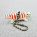 Lisa Larson Risa Larson key ring cat (my key)