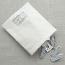 Aluminum pinch with seven Sei Nakagawa store bags