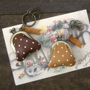 Kanmi. Linnet purse key ring (dot)