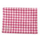 fog linen Tea towel Pink White Plaid