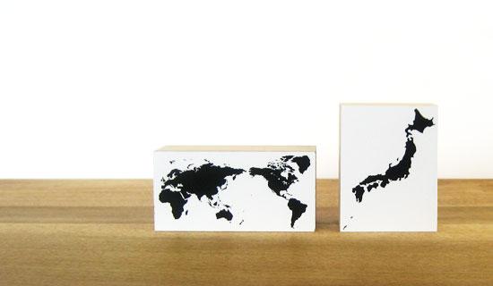 水条纹图章日本轮廓地图- 乐