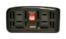 前面 コンパクトインバーター MAX500W PE-500