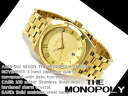 Nixon men watch THE MONOPOLY monopoly oar gold A325-502