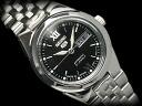 SEIKO 5 lady's self-winding watch watch black dial stainless steel belt SYMG79J1