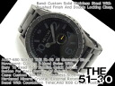 Nixon mens watch 51-30 all gun metal black stainless steel A057-680