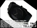 Nixon unisex watches THE TIME TELLER P time teller p P matte black A119-524