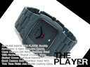 Nixon men watch PLAYER player gunship stainless steel A140-690