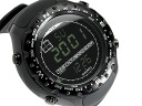 Suunto エックスランダー military men's digital watch-all black SS012926110