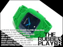 Nixon men watch THE RUBBER PLAYER rubber player green navy A139-876