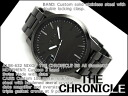 Nixon Mens Watches THE CHRONICLE SS Chronicles SS all gun metal stainless steel A198-632