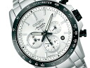 Seiko brightz Ananta mechanical chronograph mens Watch Silver Dial silver stainless steel belt SAEK009