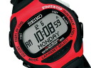 Seiko ProspEx SUPER RUNNERS EX Super runners EX running watch red x black SBDH007