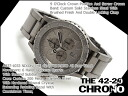 42-20 42-20 Nixon men watch THE CHRONO Kurono oar low steal A0371033