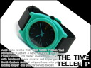Nixon Mens Watches THE TIME TELLER P time teller P Black / teal A119-1060