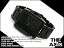 Nixon Mens Watches THE AXIS axis black stainless steel belt A324-001