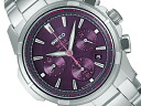 SEIKO wired new standard model men watch solar chronograph purple AGAD031