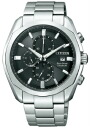 Citizen collection men watch Eco drive 1/5 second chronograph black CA0021-53E