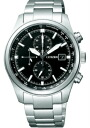 Citizen collection mens watch eco-drive 1 / 5 second chronograph black CA0240-50E
