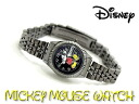 Disney Mickey Mouse ladies watch black dial gunmetal MCK859