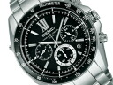 Seiko brightz radio solar chronograph men's watch black titanium Darvish with image anime SAGA105