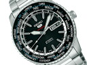 Seiko mechanical Seiko 5 sports mens automatic hand-wound watch black SARZ007