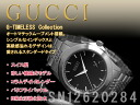 Gucci self-winding watch, rolling by hand-type men watch G thymeless collection black dial silver stainless steel belt YA126210