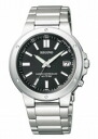 CITIZEN REGUNO citizen Ragno men's watches solar TEC radio watch black KL7-817-51