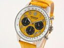 GRANDEUR Grand Dole men watch chronograph yellow OSC028W3