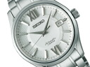 Seiko presage Mens Watches mechanical automatic self-winding mechanical silver SARX001