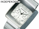 INDEPENDENT independent mens watch chronograph silver BR1-510-11