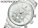 INDEPENDENT independence men watch chronograph silver BR3-113-11