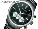 INDEPENDENT independence men watch chronograph oar black BR3-130-51