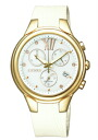 CITIZEN COLLECTION citizen collection ladies watch eco-drive chronograph white gold FB1312-06 A