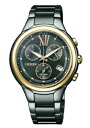 CITIZEN COLLECTION citizen collection ladies watch eco-drive chronograph black gold FB1316-56E