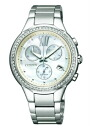 Citizen COLLECTION citizen collection Lady's watch ecodrive chronograph silver MOP FB1320-59A