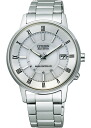 Citizen collection men watch Eco drive radio time signal white FRD59-2481