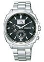 Citizen collection eco-drive men's watch BT0080-59E