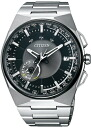 Citizen mens watch eco-drive radio satellite wave CC2006-53E