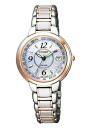 Citizen exceed ladies watch eco-drive radio EC1094-57 A * was launched in October