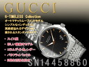 Gucci self-winding watch, rolling by hand-type men watch G thymeless collection black X Rose gold dial silver stainless steel belt YA126420