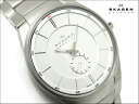 Scar gene men watch silver dial stainless steel belt 924XLSXS
