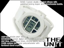 Nixon men watch THE UNIT unit white silicon belt A197-100