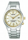Citizen Ragno men's watches solar TEC radio watch champagne gold KL3-919-13
