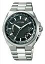 Citizen atessa mens watch eco-drive radio clock perfect multi 3000 solar world time black titanium CB0120-55E
