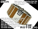 Nixon Mens Watches THE ROTOLOG rotolog】dark bamboo A028-429