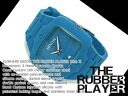 Nixon Mens Watches THE RUBBER PLAYER ラバープレイヤー blue x A139-649