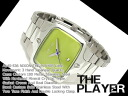 Nixon mens watches 'THE PLAYER' player lime stainless A140-536