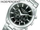 Independent men's watches CITIZEN citizen chronograph black BR1-412-51