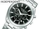Independent men's watches CITIZEN citizen chronograph black BR1-412-51